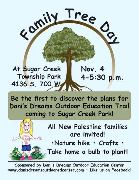 family tree day at Sugar Creek