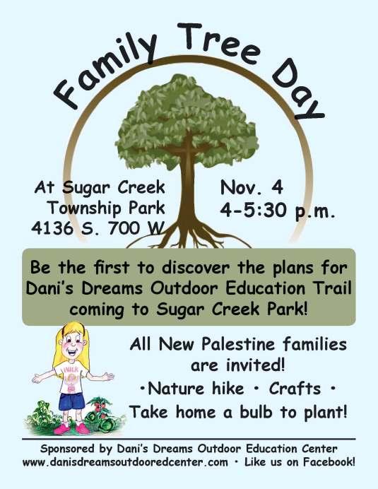 family tree day at Sugar Creek